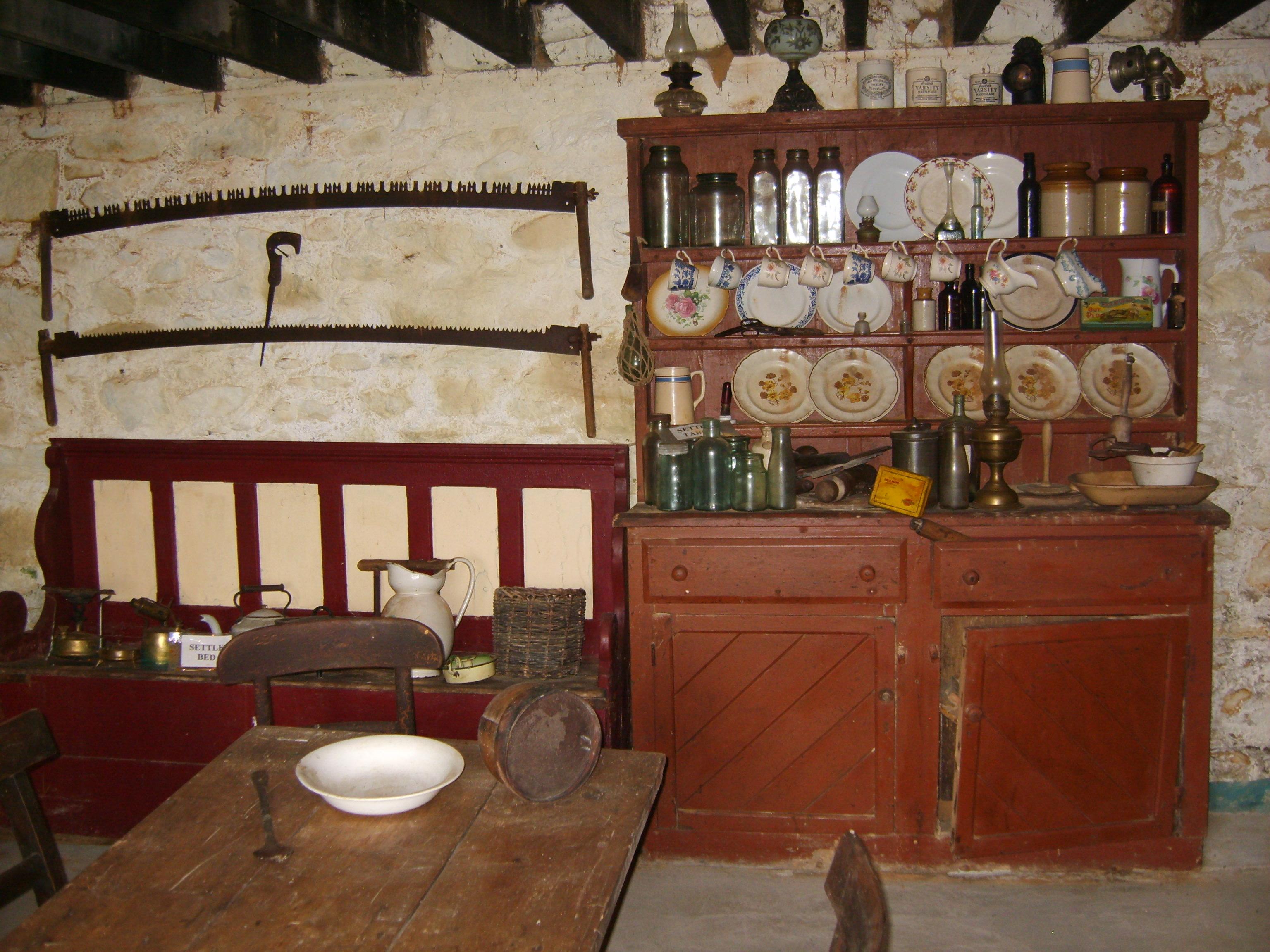 Euro Farmhouse Kitchen Simple Home Decoration